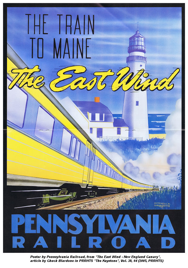 East Wind Train – PRR,NH,B&M,MEC [HO]