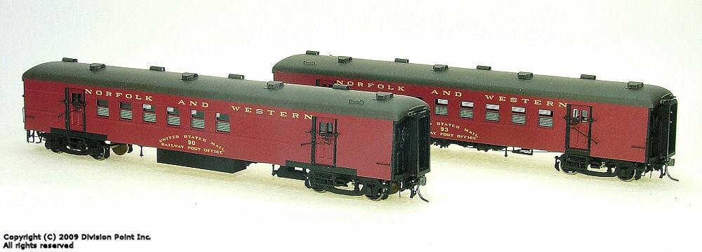 Norfolk & Western Heavyweight Passenger Cars